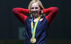 American teenager Virginia Thrasher stuns rivals to win first gold medal of Rio 2016