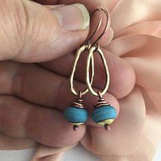 Earrings Wire Wrapped Handmade Jewelry Mixed by ArtNSoulJewels