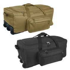 product image for Mercury Luggage/Seward Trunk Code Alpha™ Mini-Monster 3-Wheeled Duffle Bag