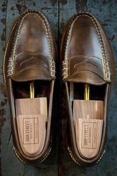 d84b7c2a37d independencechicago  Oak Street Bootmakers Nautral Beefroll Penny Loafers  available at Independence. Zapatos Shoes