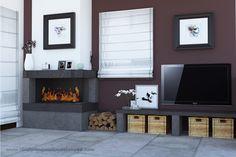 progettazione d'interni Flat Screen, Drive Way, Flat Screen Display