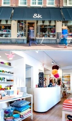 Favourite Shops in Amsterdam Jordaan: &Klevering - Haarlemmerstraat 8 and Jacob Obrechtstraat 19a, Amsterdam http://www.klevering.nl/
