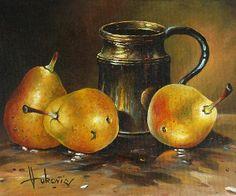 Pears Canvas Print / Canvas Art by Dusan Vukovic