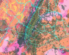 MapCarte 61/365: PrettyMaps by Stamen Design, 2010