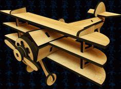 Clasimex.com Triplano Proyecto para cortadora laser o router cnc Autocad Featured Wood Topics