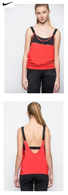 48d53df7dbf1e  23 - Nike Women s Dri-Fit Woven 2-in-1 Training Sports Top-Black-XS