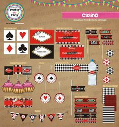 Casino theme party packages