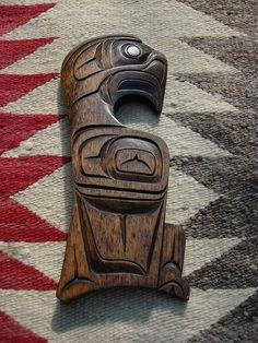 Eagle: Herman Bee Kwakiutl by wightmagik, via Flickr