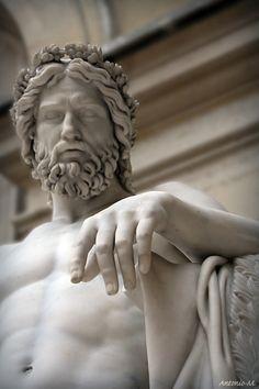 Aristaeus, god of gardens  François-Joseph Bosio  Musée du Louvre, Paris  Marble, 1817