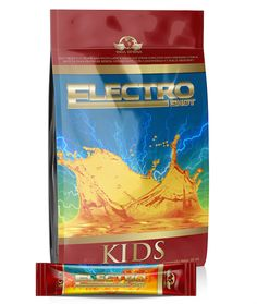 Electroshot for Kids. Packed with Vitamin C, Omega 3, Omega 6, Ganoderma lucidum, Cordyceps , Chaga, and Calcium. Ready to drink without having to stop.