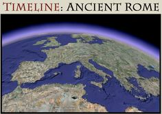Ancient Roman History Timeline Lots of information with more links. Emphasis on primary source information Ancient Rome, Ancient History, Roman History Timeline, 6th Grade Social Studies, History Projects, School Projects, Modern History, Roman Empire, World History