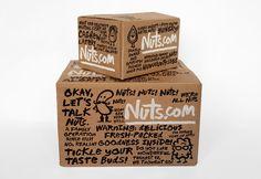 Nuts.com designed by Pentagram.