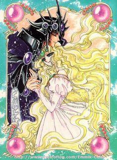 Esmeralda y Zagato. Mi pareja tragica favorita.