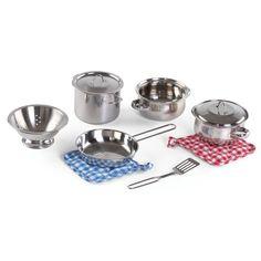 Cooking Essentials 10-Piece Stainless Steel Set