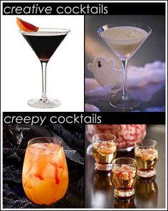 Halloween Spirits and Cocktails