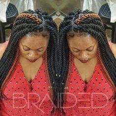 #StylishSaturdays with these twists😍😍😍 473-HAIR.....Book your appointment!!! #afrochic #updo #blackhair #feedinbraids #naturalhair #neatbraids #instahair #longhair #blackhair  #hairoftheday #protectivestyle #naturalhairstyles #perfectbraids #protectivestyles #cornrowstyles #cornrows #jumbotwist #justbraids #blackhairstyle #senegalesetwist #boxbraids #twists #plaits #braids #afrohair #feedinbraids #locs