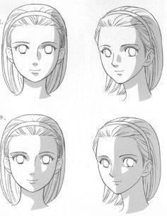 manga face shading - Google Search
