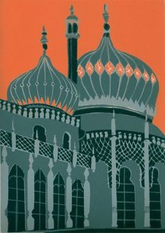 Brighton Pavilion (grey)