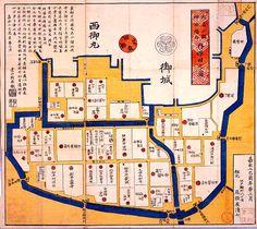 Old Tokyo(EDO) Map