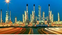 beautiful lighting of oil refinery plant in heavy petrochemical industry estate use for power ,energy and petroleum industrial topic Supply Chain Solutions, Cnn Money, Oil Refinery, Energy Industry, Power Energy, Countries Of The World, Seattle Skyline, San Francisco Skyline, Photo Editing