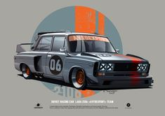 ciberconcept: LADA 2106 Time Attack