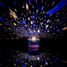 Star Projector - Self-Rotating Constellation Night Projector Lamp - Perfect For Kids