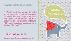 Invitatie petrecere 2