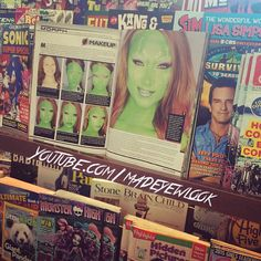 LOOK! I'm in Barnes & Noble!! Eek! I was always in #barnesandnoble all the time as a teenager, so I'm extra excited to be in a magazine in the store!!!!! It's also in Walgreens, and other stores! Check it out in #cosplayculturemagazine!!!! It's their first magazine!  #madeyewlook #cosplay