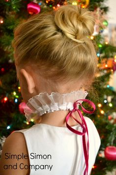Holiday Ruffled Collar Necklaces