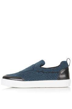 TIPSY Wool Slip-On Skaters