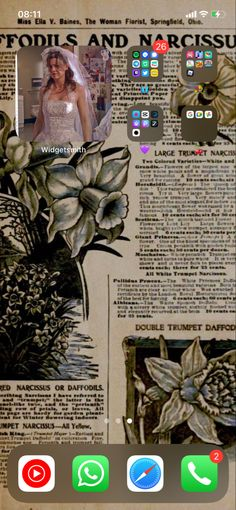 Trumpet, Daffodils, Homescreen, Plants, Poster, Color, Art, Art Background, Trumpets