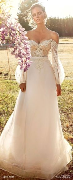 White wedding dress. Brides dream about having the most appropriate wedding ceremony, but for this they require the perfect wedding dress, with the bridesmaid's dresses actually complimenting the brides-to-be dress. The following are a variety of suggestions on wedding dresses.