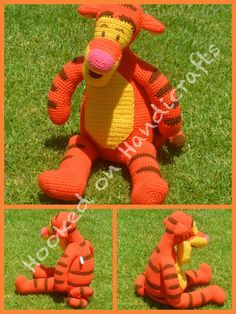 Tigger by Hooked on Handicrafts. See us on Facebook and please like our page. Orders taken