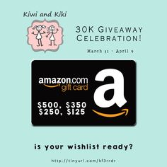 Kiwi and Kiki Giveaway
