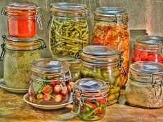 Des légumes en bocaux faits maison, qui se conservent un an et plus, sans stérilisation, sans congélation,