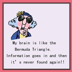 .the older one gets... there are moments there..   I understand, Maxine.