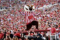 "Bucky Badger uw madison wi badgers football with ""Varsity"", ""Jump Around"", ""5th Quarter"""