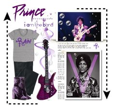"""Prince. ..."" I Am the Band """" by conch-lady ❤ liked on Polyvore featuring TravelSmith, Dries Van Noten, bandtshirt and bandtee"