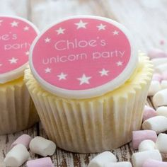 Our Unicorn Cupcake Toppers are a fabulous way to personalise cupcakes for a special unicorn themed party. The cupcake decorations can be personalised with the name of the special person and produced in a wide range of colours. Unicorn Cake Decorations, Unicorn Cupcakes Toppers, Unicorn Themed Birthday Party, Birthday Party Themes, Baking Cupcakes, Fun Cupcakes, Personalised Cupcakes, Just Bake, Fondant Icing