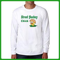Eddany Street Hockey chick Long Sleeve T-Shirt - Sports shirts (*Amazon Partner-Link)