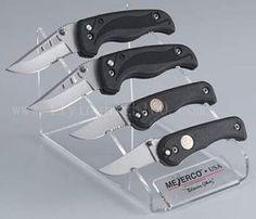 Acrylic Knife Display
