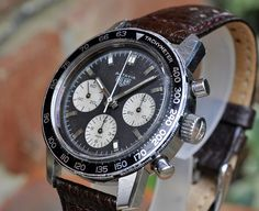Heuer Autavia - 2446C 1968/69 by andy tims 1965, via Flickr