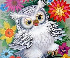 Enjoy Curated Just For Fun and Sharing! Owl Bird, Bird Art, Pet Birds, Owl Tattoo Drawings, Bird Drawings, Owl Quilt Pattern, Drawings Pinterest, Owl Artwork, Quilling Animals