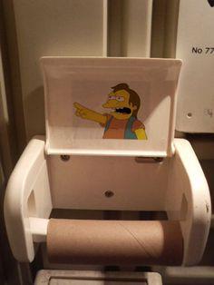 Toilet paper is empty on http://www.drlima.net