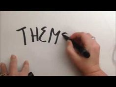 """Identify the theme by asking """"What did the main character learn?""""--Lesson 7 of 8 (Standard RL.3.2) - YouTube"""