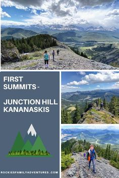 Family Adventures in the Canadian Rockies: First Summits - Junction Hill, Kananaskis Bike Trails, Biking, Forest Bathing, Visit Canada, Canadian Rockies, Day Hike, Family Adventure, Back To Nature