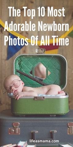 These are some of the cutest newborn pics ever! Definitely saving as inspiration for the future.