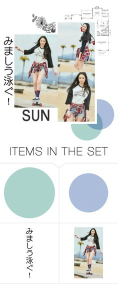 """""""Member reveal : Sun"""" by s-e-x-u-a-l-i-t-y ❤ liked on Polyvore featuring art and Member_Sun"""