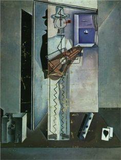 Pierrot Playing the Guitar - Salvador Dali