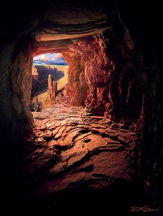 Spider Rock. Arizona's Canyon de Chelly.